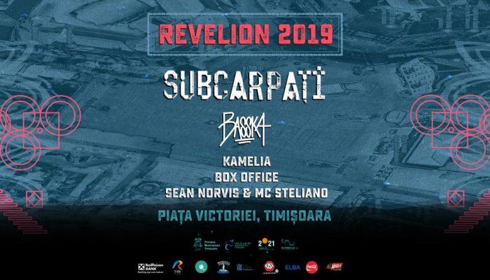 Revelion 2019 la Timișoara