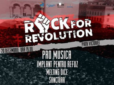 Rock for Revolution Timișoara 2018