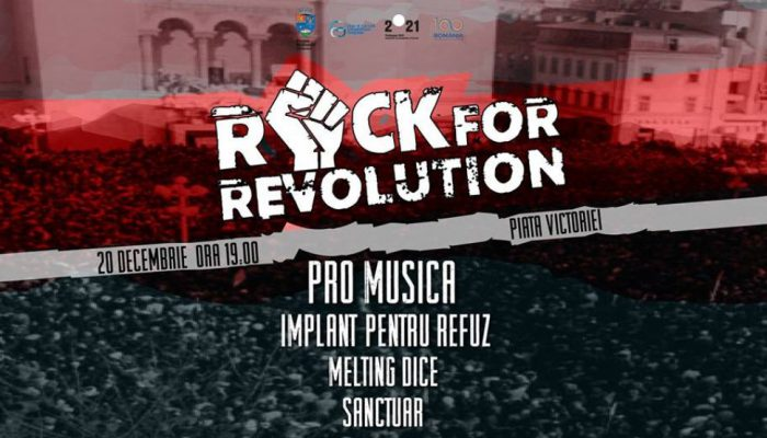 Rock for Revolution Timișoara 2018