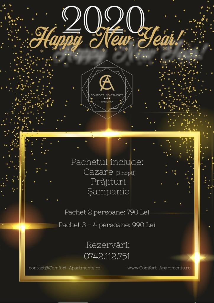Revelion 2020 la Timisoara